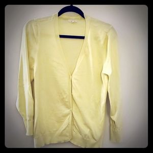Maurices yellow cardigan